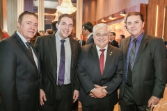 Darlan Leite, Rodrigo Pereira, Odorico Monteiro e Eliseu Barros