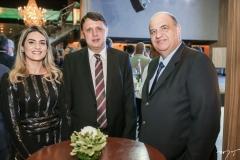 Denise Carrá, Alexandro de Castro e Eilton Machado