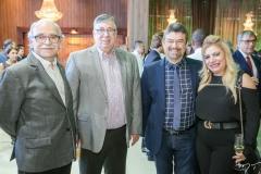 Ednilton Soarez, Maia Júnior, João e Solange Maia