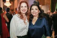 Enid Câmara e Celina Castro Alves
