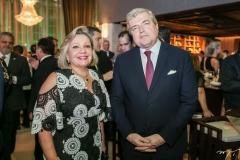 Fernanda Jensen e Michel Miraillet