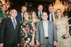 Gladyson e Lucineide Pontes, Jean-Marc Pouchol, Carol Bezerra e Roberto Cláudio, Pieter Elbers, Camilo e Onélia Santana