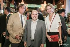 Jean-Philippe Pérol, Roberto Cláudio e Caroline Putnoki