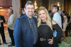 João Marcos e Solange Maia