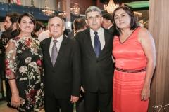 Lucianeide e Gladyson Pontes, Rolim de Castro e Euzenir Rolim