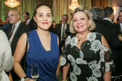 Magali Claux e Fernanda Jensen