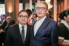 Manoel Linhares e Arialdo Pinho