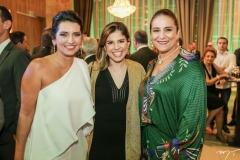Márcia Travessoni, Carol Bezerra e Patrícia Macedo