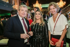 Michel Miraillet, Denise Carrá e Caroline Putnoki