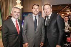 Olivier Colas, Gony Arruda e Janyck Daudet