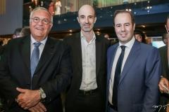 Patrick Alecsander, Jean-Michel Mathieu e César Ribeiro