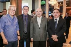 Paulo César Norões, Eliseu Barros, Ednilton Soarez e Manoel Linhares