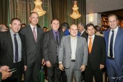 Rodrigo Pereira, Regis Medeiros, Eliseu Barros,Roberto Claudio, Pompeu Vasconcelos e César Ribeiro