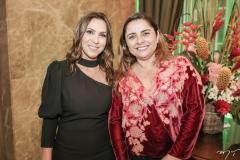 Samara Fernandes e Adriana Gomes