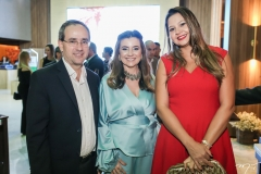 Sérgio Resende, Emília Buarque e Paola Vasconcelos