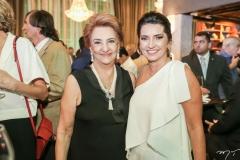 Tereza Borges e Márcia Travessoni
