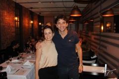 Ana Maria Freitas e Sebastiano Di Ruocco