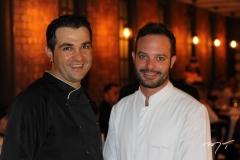 Chefs Andrea Antonucci e Felipe Viana