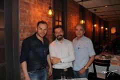 Eneldo Peixoto, Carlos Otávio e Marco Monteiro