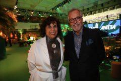 Denise Milan e Cesar Giobbi