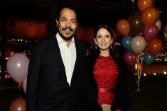 Antonio Almeida e Michele Uchoas