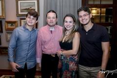 Edson Quarto,Otavio,Adriana e Otavio Queiroz