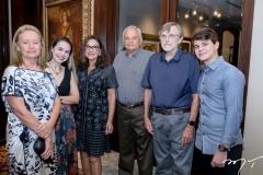 Gina Green, Adriana Queiroz,Angela e José Luis Bordiman, Jeimes Green e Edson Quarto