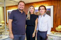 Adriano Nogueira, Carmen Ranjel e Rodrigo Maia
