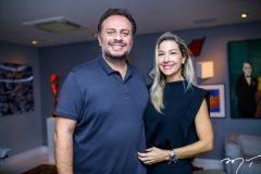 Adriano Nogueira e Carmen Ranjel
