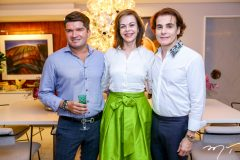 David do Carmo, Glaucia Andrade e Rodrigo Maia