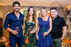 Lucas Fernandes, Ana Lucia , Vilela Patricia e Danilo Dias