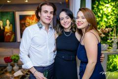 Rodrigo Maia,  Milena Holanda e Anik Mourão