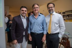 Isaac Furtado, Haim Erel e Márcio Crisóstomo