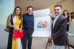 Márcia Travessoni, Fernando Férrer e Isaac Furtado
