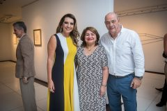 Márcia Travessoni, Maria Vital e Fernando Travessoni