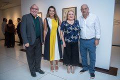 Padre Eugênio, Márcia Travessoni, Fátima Andrade e Fernando Travessoni
