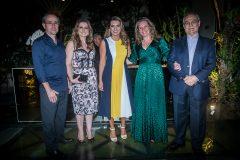 Sérgio Resende, Emília Buarque, Márcia Travessoni, Bia e Max Perlingeiro
