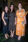 Sophia Erel, Luciana Menezes e Cheyla Furtado