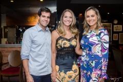 Alan Oliveira, Camila Oliveira e Talyzie Mihaliuc