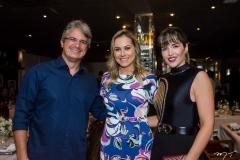 Heitor Barreto, Talyzie Mihaliuc e Ludmila Carneiro