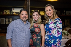 Leandro Vasques, Aline Vasques e Talyzie Mihaliuc