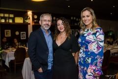 Marcos Felipe, Eveline Freire e Talyzie Mihaliuc