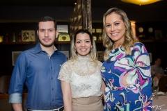 Vitor Barbosa, Ivana Batista e Talyzie Mihaliuc