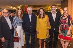 Augustinho Coelho, Christina Tavares, Mário Carvalho, Márcia Travessoni, Colombo Cialdini e Anya Ribeiro