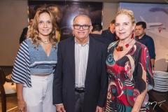 Christina Tavares, Augustinho Coelho e Anya Ribeiro
