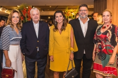 Christina Tavares, Mário Carvalho, Márcia Travessoni, Colombo Cialdini e Anya Ribeiro
