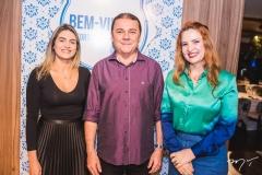 Denise Carrá, Eliseu Barros e Enid Câmara