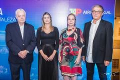 Mário Carvalho, Denise Carrá, Anya Ribeiro e Arialdo Pinho