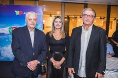 Mário Carvalho, Denise Carrá e Arialdo Pinho
