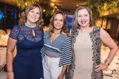 Verônica Patrícia, Christina Tavares e Márcia Pinheiro